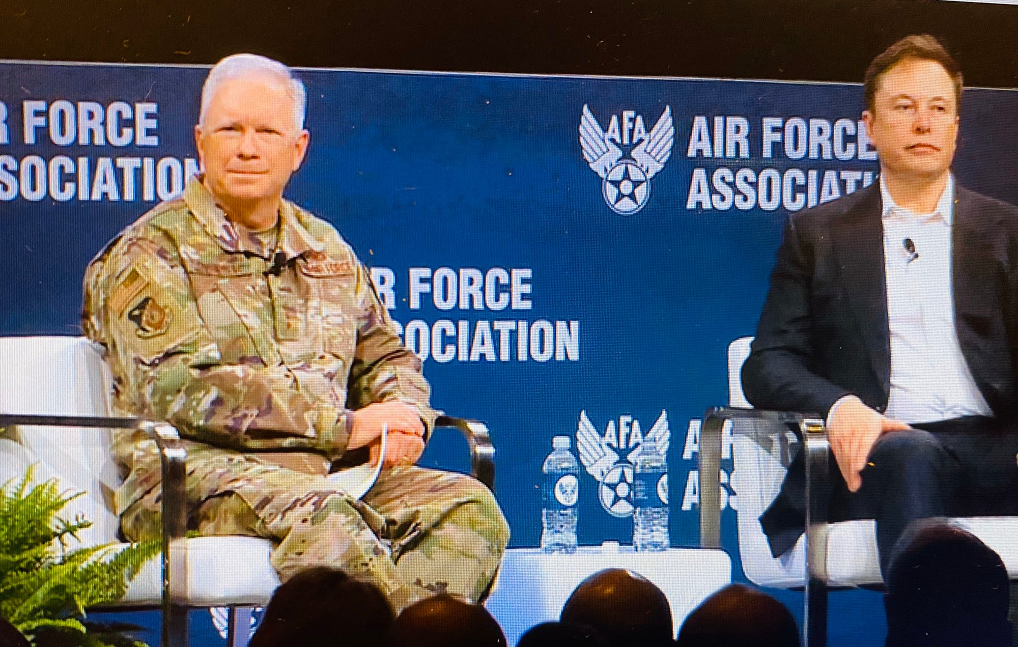 Elon Musk participated in a fireside chat at Air Force Association's 2020 Air Warfare Symposium
