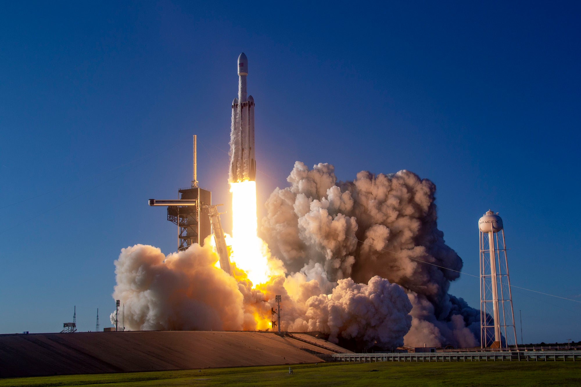 SpaceX's Falcon Heavy will launch the NASA Psyche Mission to study an asteroid between Mars and Jupiter