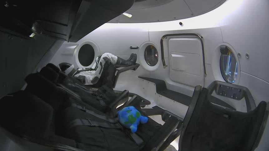 SpaceX celebrates anniversary of Crew Dragon's first flight to the space station with a commemorative video