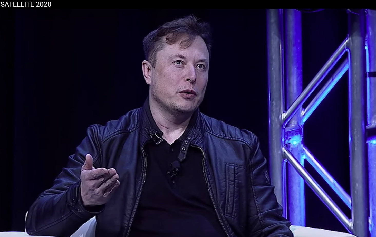 Elon Musk attends the Satellite 2020 conference, says 'you don't need college to learn stuff'  [Video]