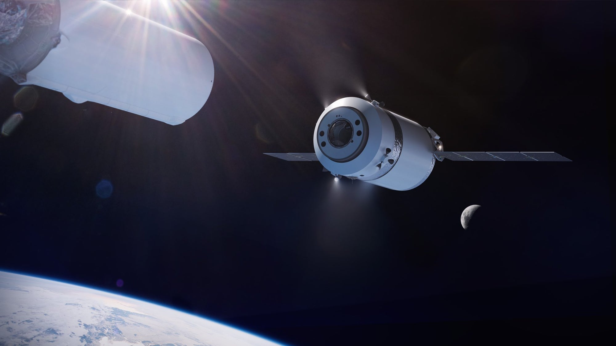 SpaceX earns NASA contract to launch cargo aboard new 'Dragon XL' craft to Lunar Gateway