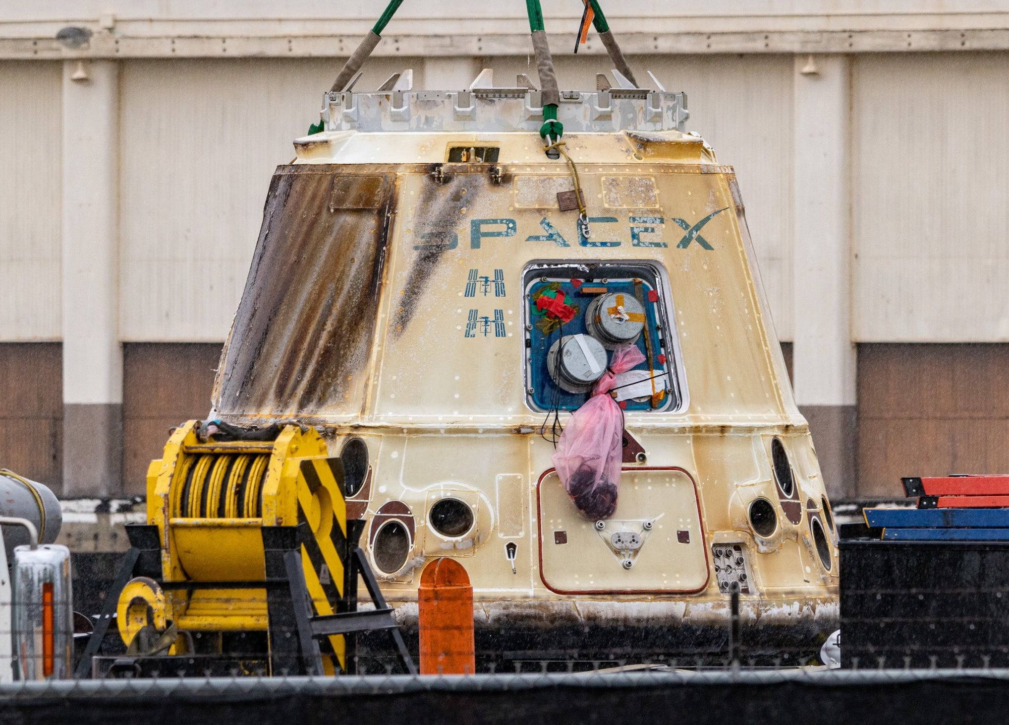 SpaceX retires first iteration of the Dragon spacecraft after ocean recovery