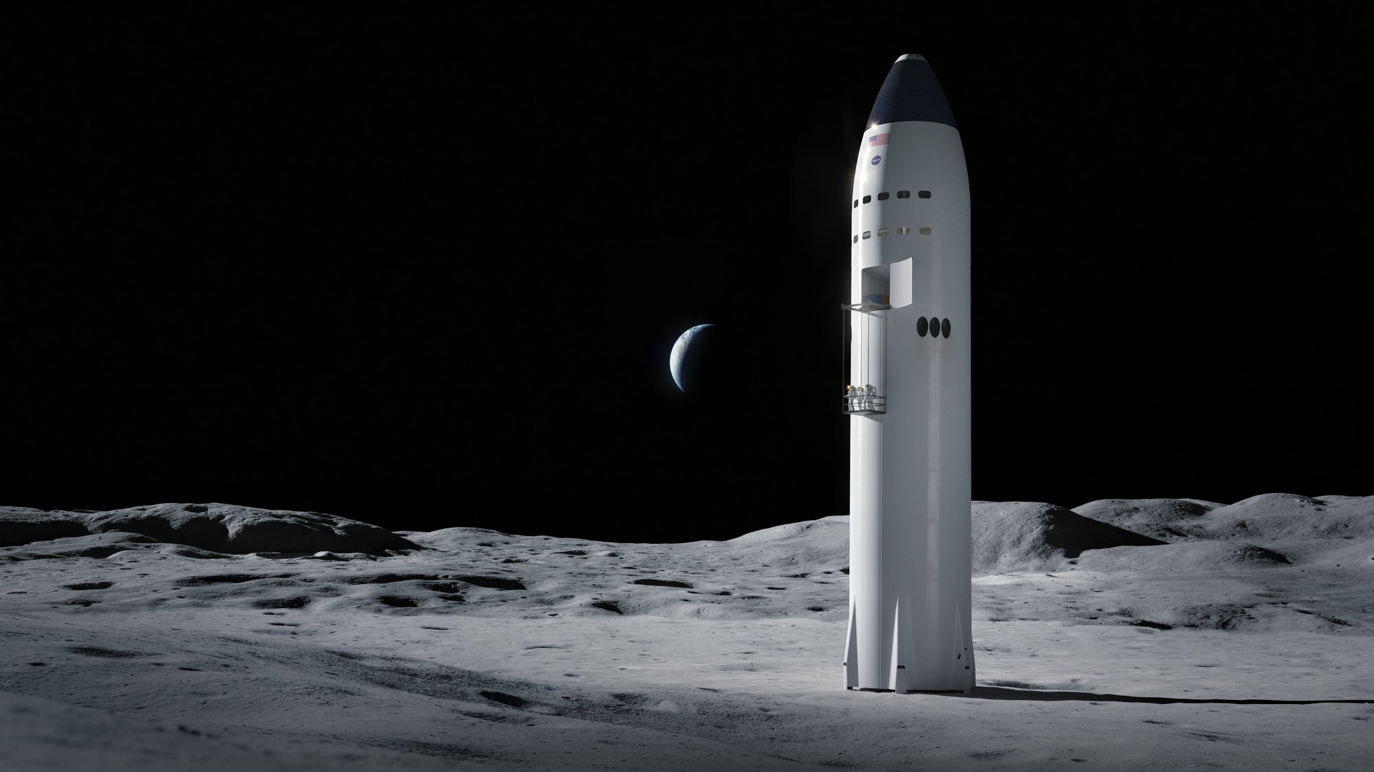 SpaceX wins NASA contract to develop a Starship for Crewed Missions to the Moon
