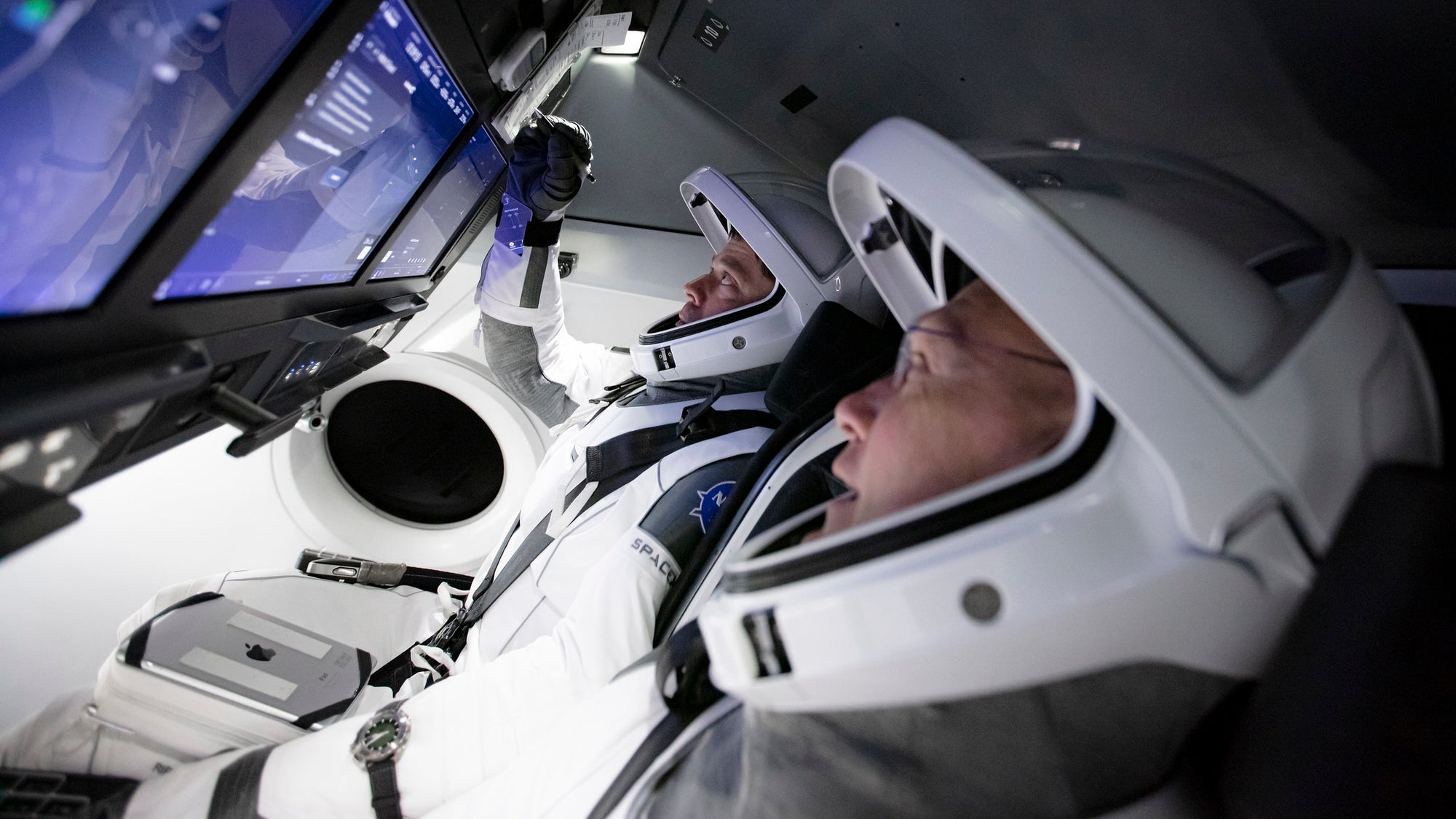 NASA Astronauts will pilot SpaceX's Crew Dragon manually to test the feature
