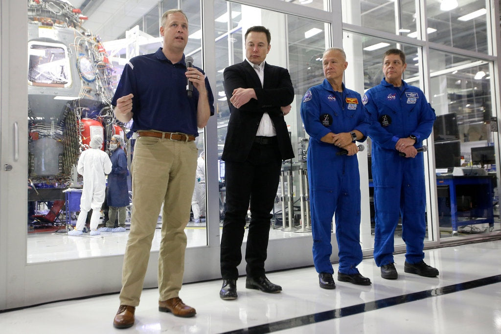 NASA Administrator asks public not to attend SpaceX's first crewed rocket flight due to C19