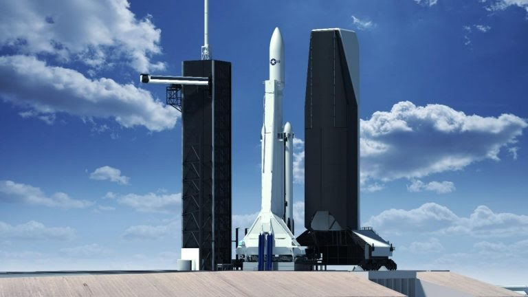 SpaceX plans to build an enclosed mobile tower for rockets to meet U.S. Air Force requirements