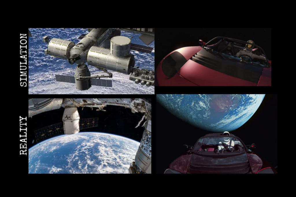 SpaceX goes from creating inspiring video simulations to making it a reality!