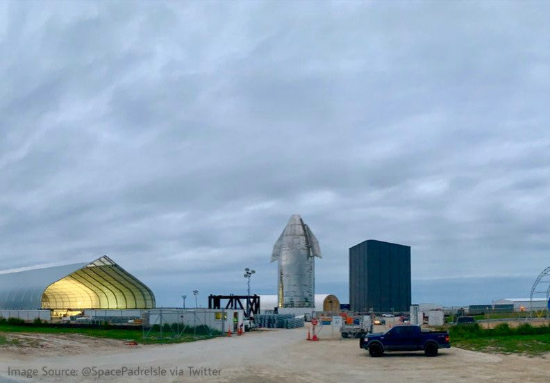 SpaceX will manufacture Starship in an enclosed environment at Boca Chica
