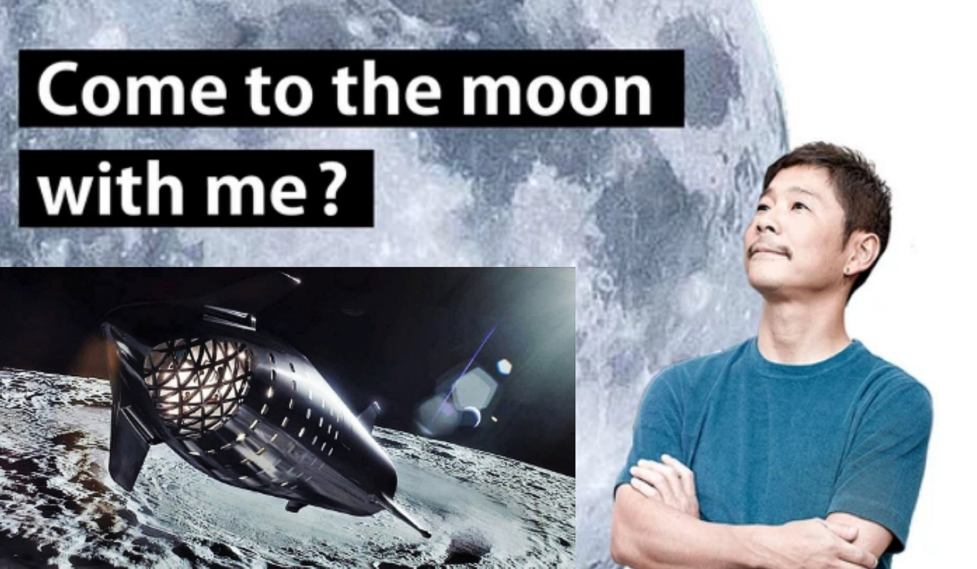 Yusaku Maezawa cancels his search for a girlfriend to invite on a romantic moon voyage aboard SpaceX's Starship