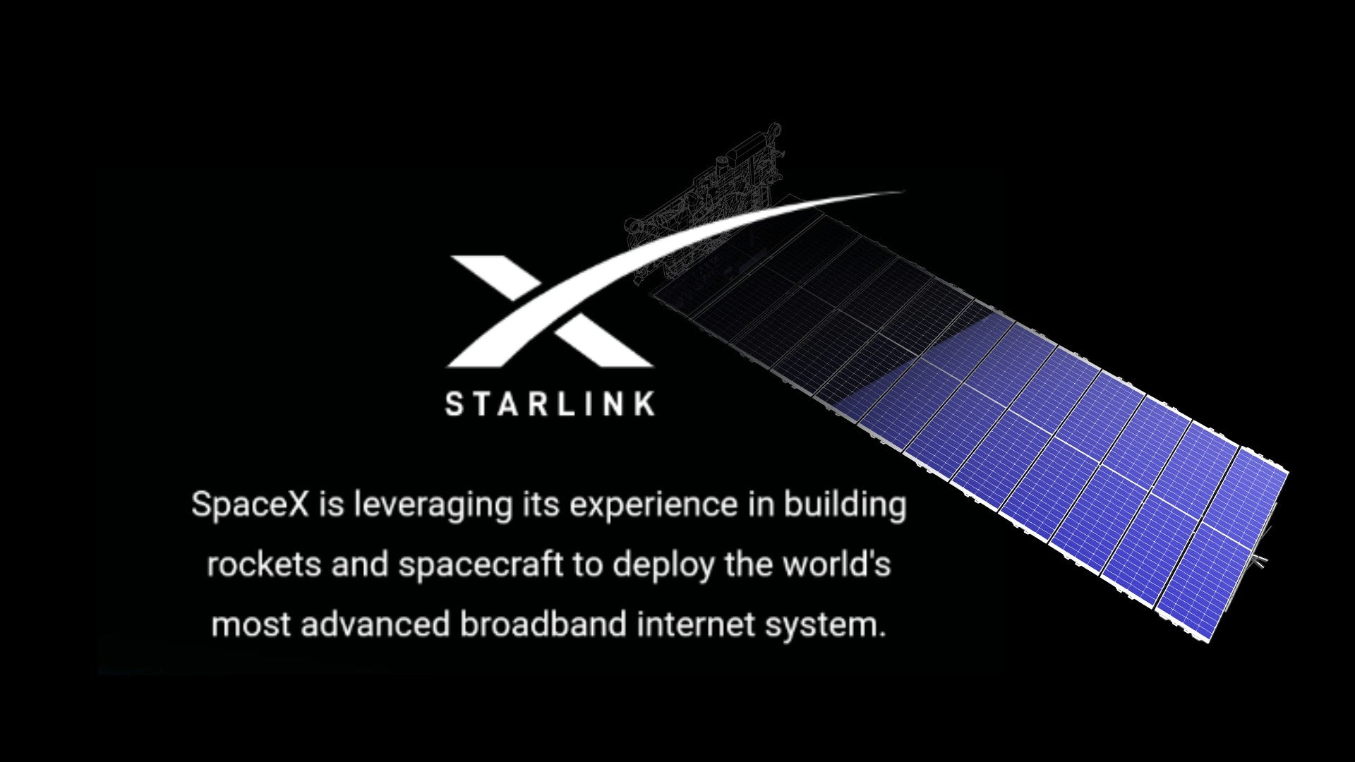 SpaceX's Starlink broadband internet network will benefit rural areas