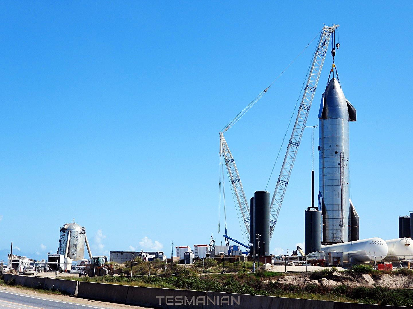 SpaceX will soon perform a second Starship SN8 Raptor engine test