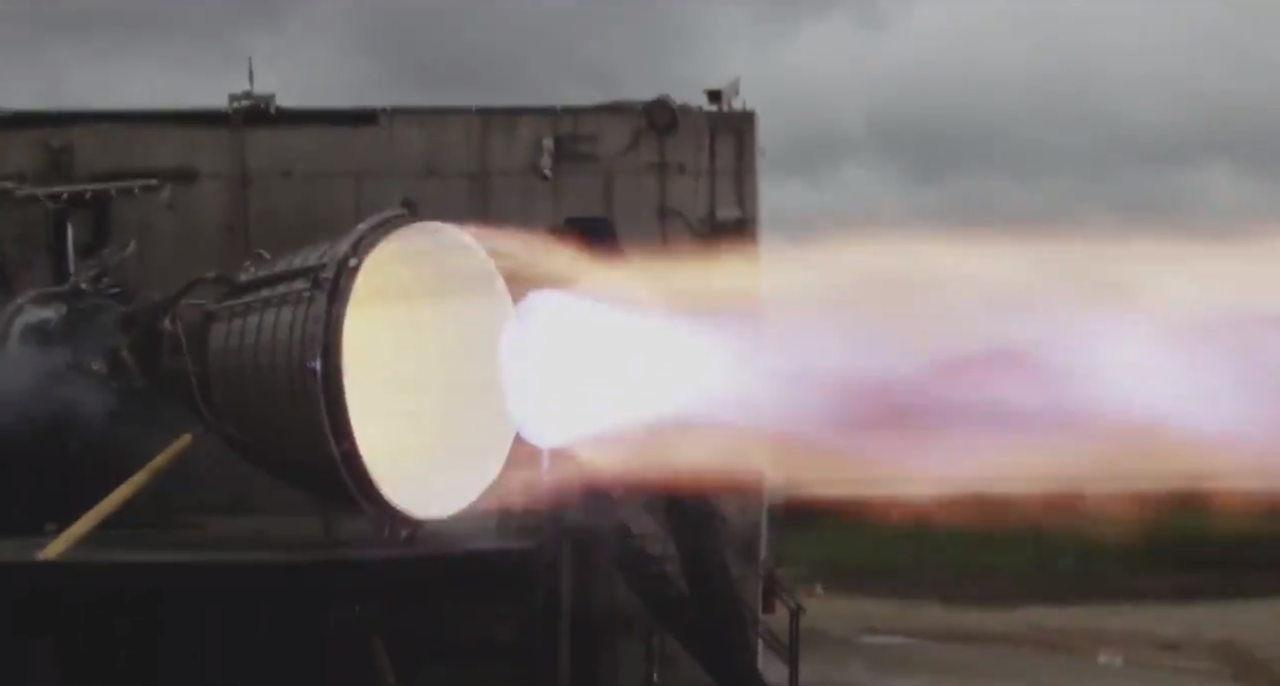 SpaceX ignites Starship's powerful vacuum optimized Raptor engine