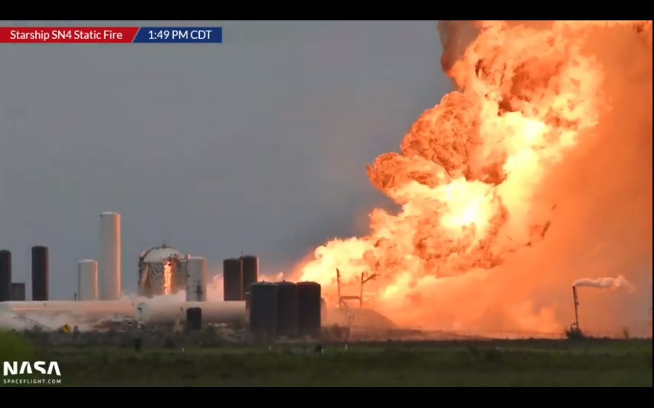 SpaceX Starship prototype explodes during test in Texas