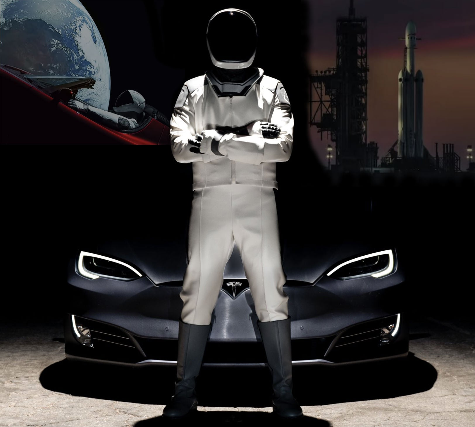 SpaceX-Real-Life-Starman