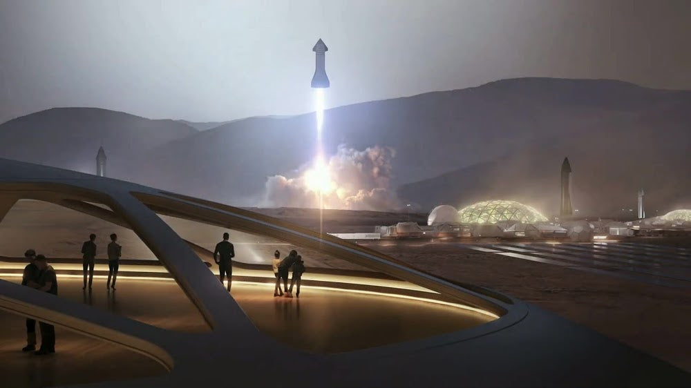 Elon Musk shared SpaceX Starship plans to colonize Mars