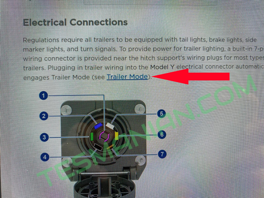 Tesla Model Y Trailer Mode For Future Update