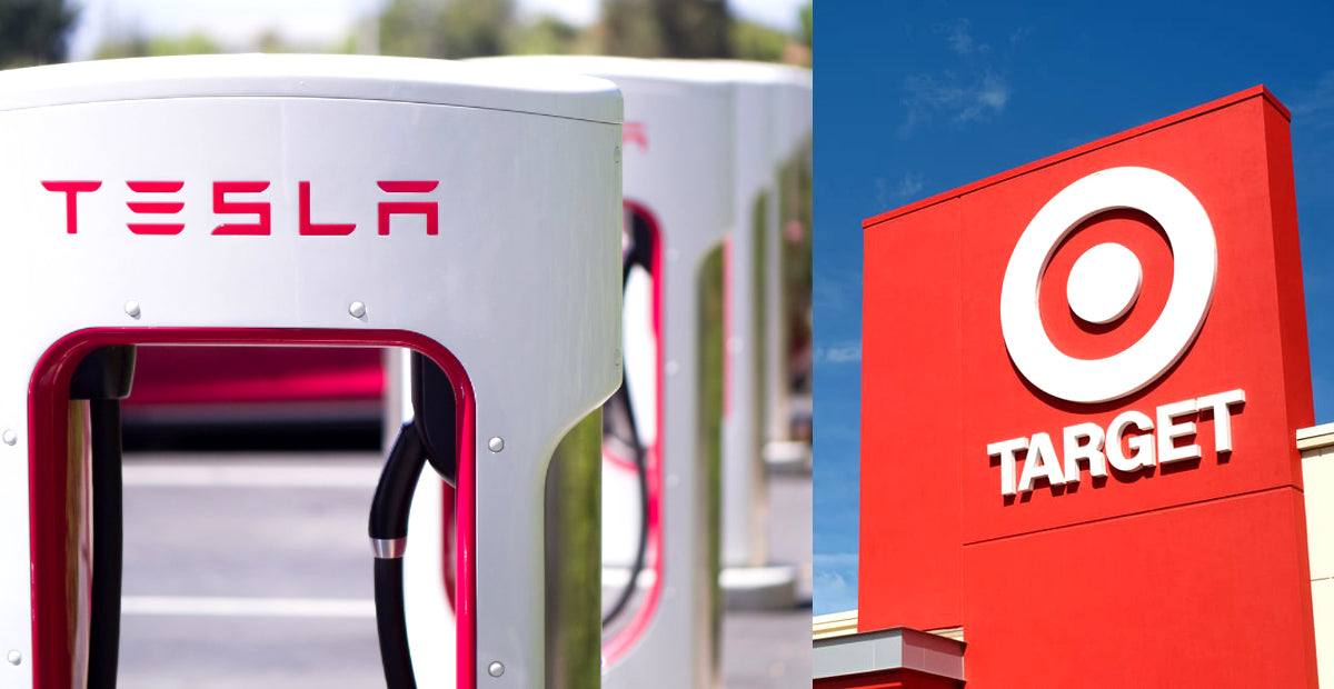 Tesla Works with Massive Retailer Target to Install Superchargers in Many Cities