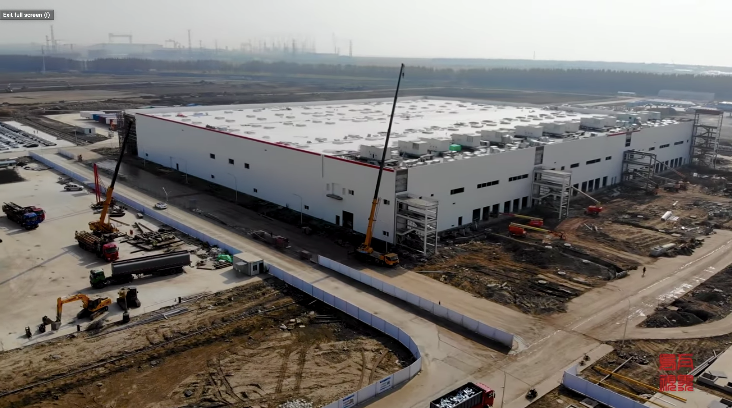 Tesla-Gigafactory-3-Phase-2-Battery-Facility