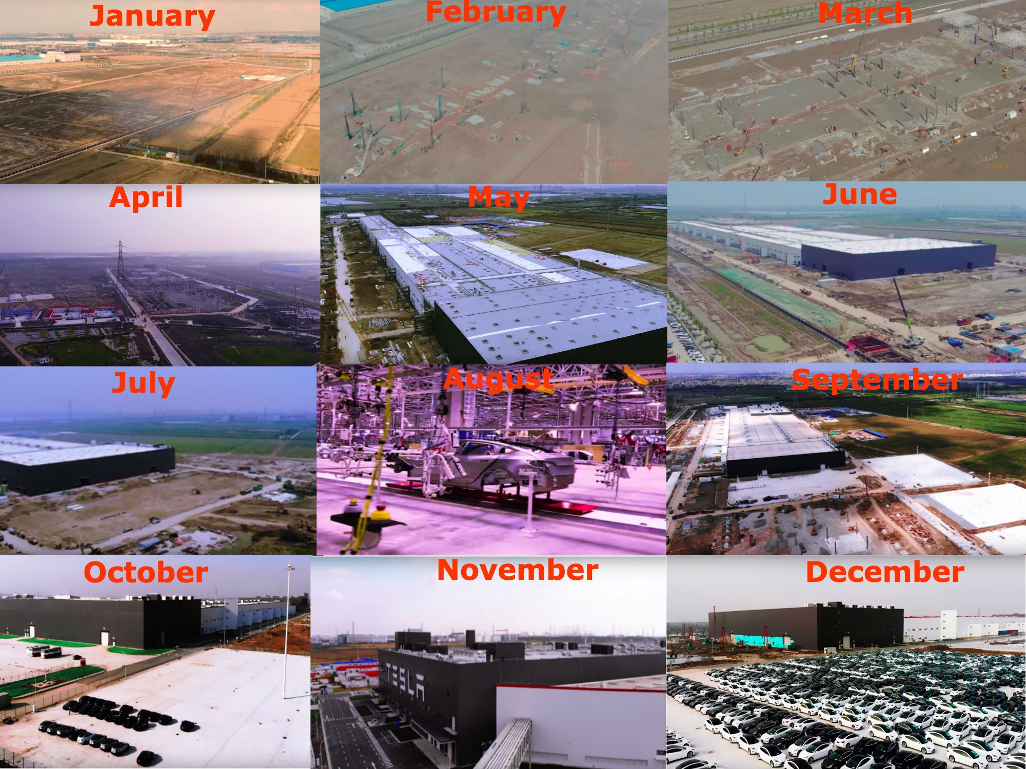 Tesla Gigafactory 3 and TSLAQ 2019 Recap: From Muddy Fields to Model 3 Production