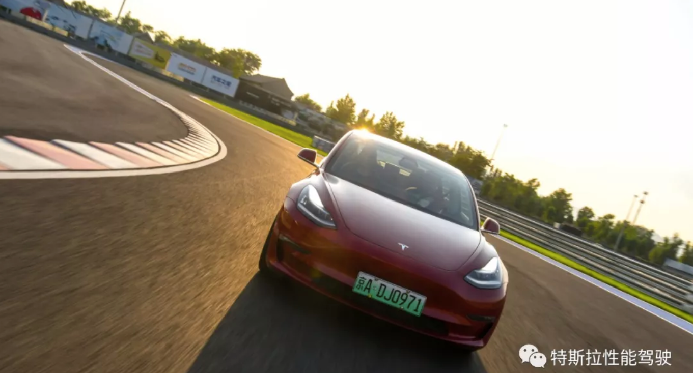 Tesla-Model-3-Performance-China-Driving-School