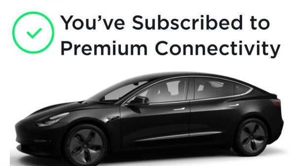 Tesla's $120/Year Premium Connectivity Package Leads the Auto Industry's Tech Sector