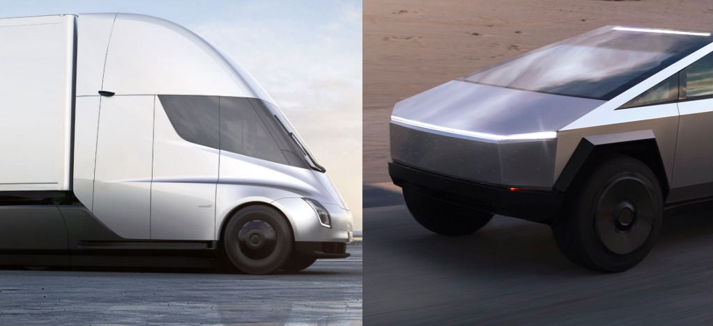 Tesla-Semi-Cybertruck-commercial-vehicles