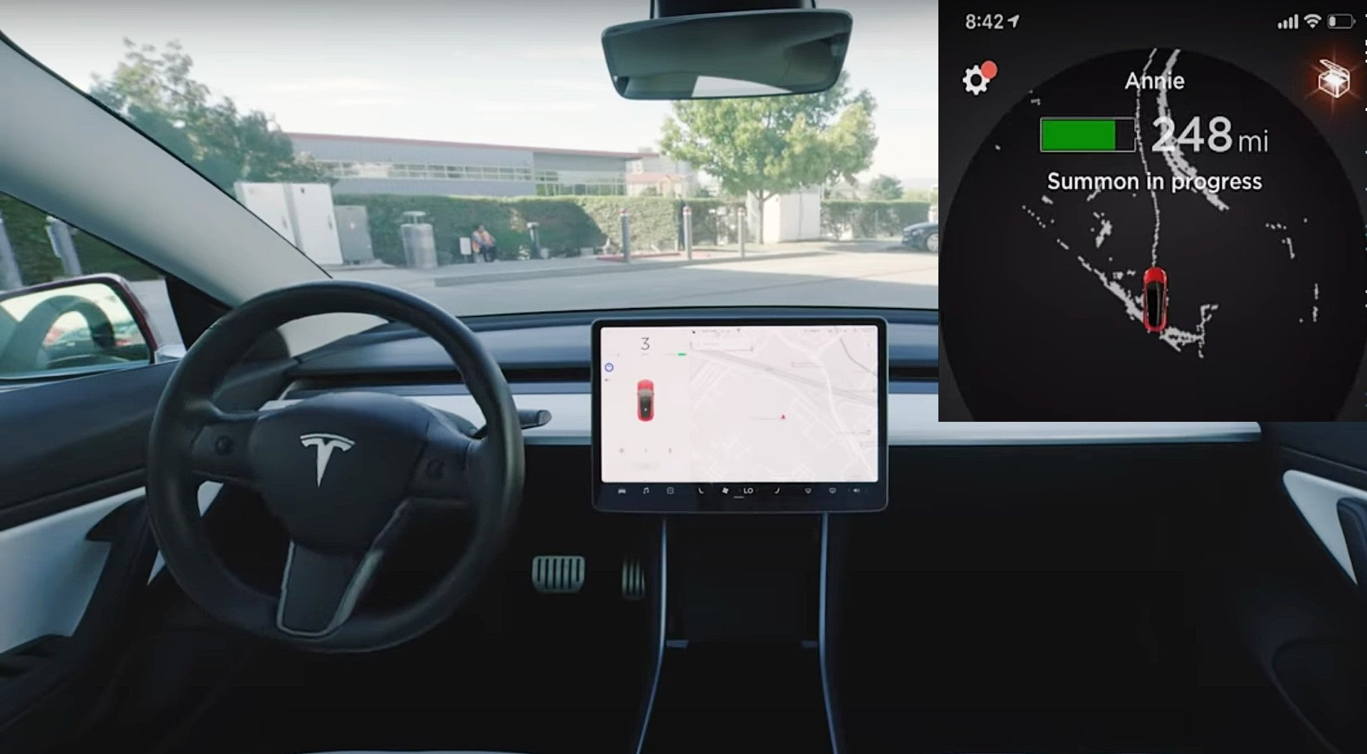 Tesla-Smart-Summon-GPS-Database