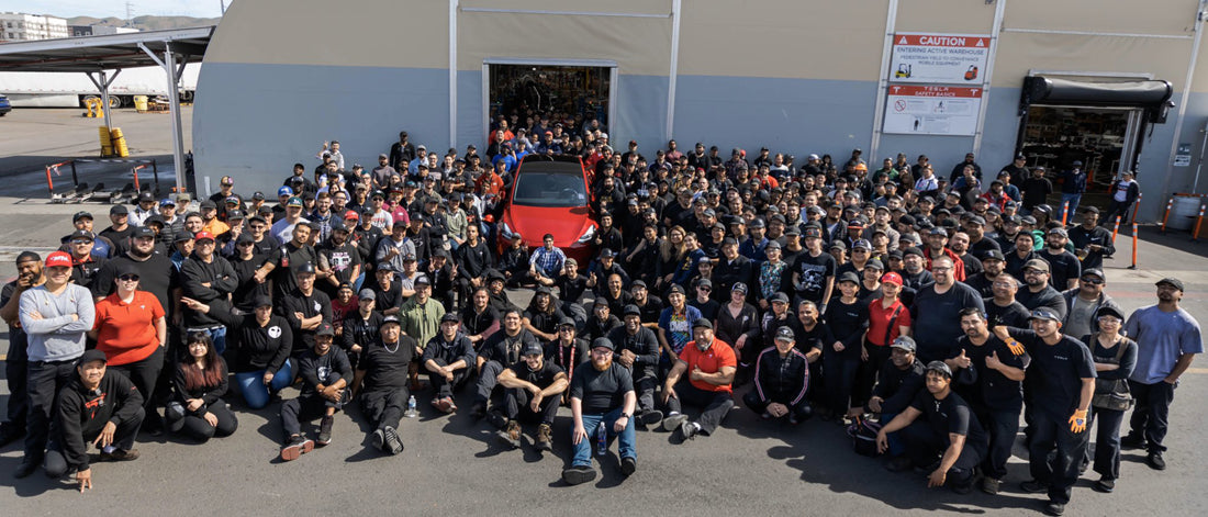 Tesla Fremont Factory 10-Year Anniversary - The Path from Zero to a Million EVs