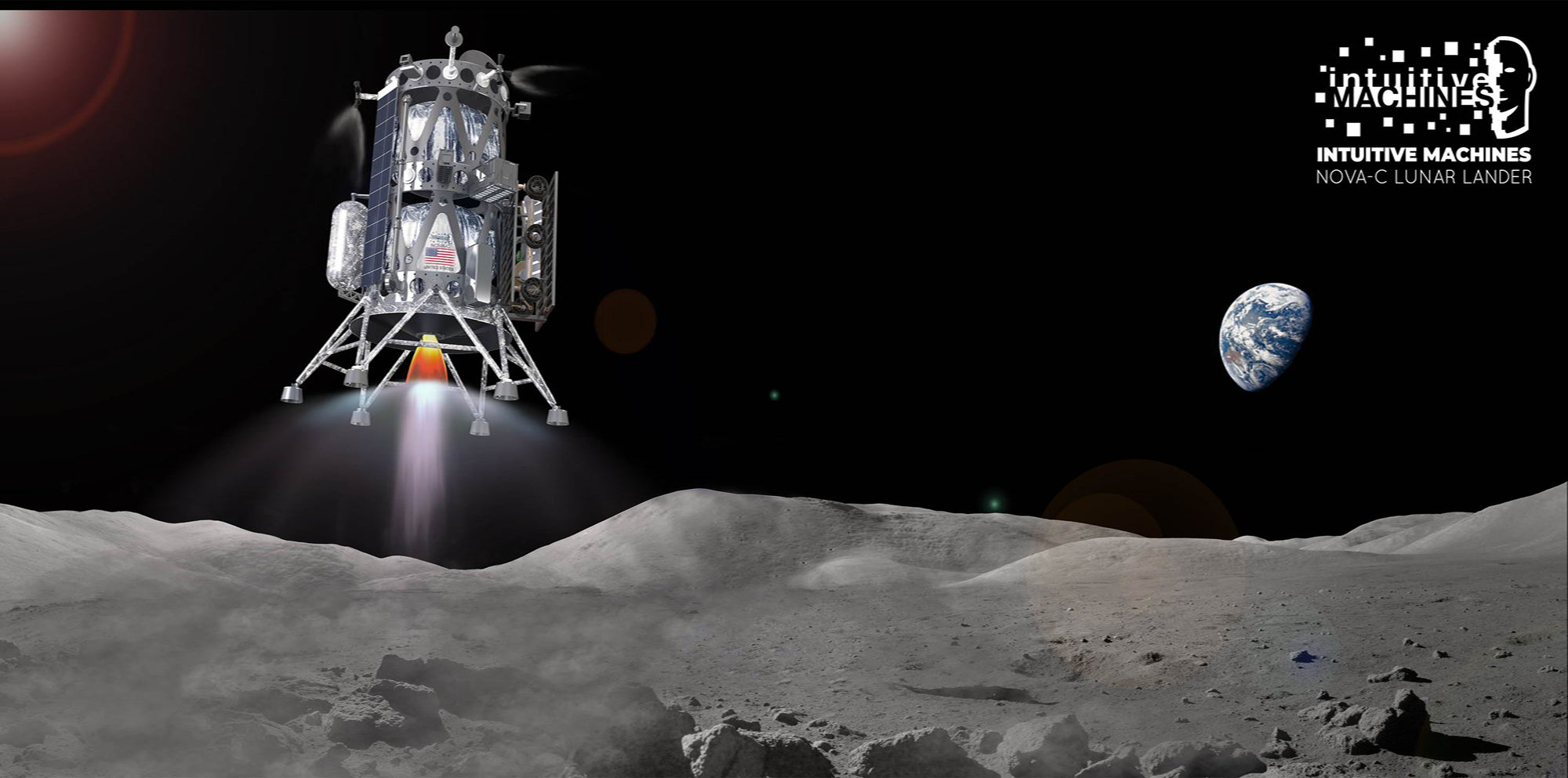 SpaceX Falcon 9 rocket will launch Intuitive Machines' NOVA-C lunar lander