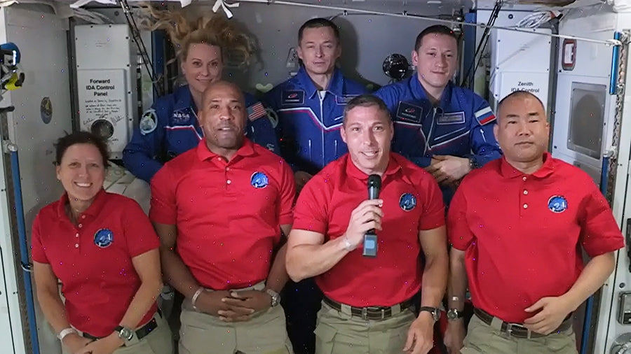 NASA Welcomes SpaceX Crew-1 Astronauts to the Orbiting Laboratory