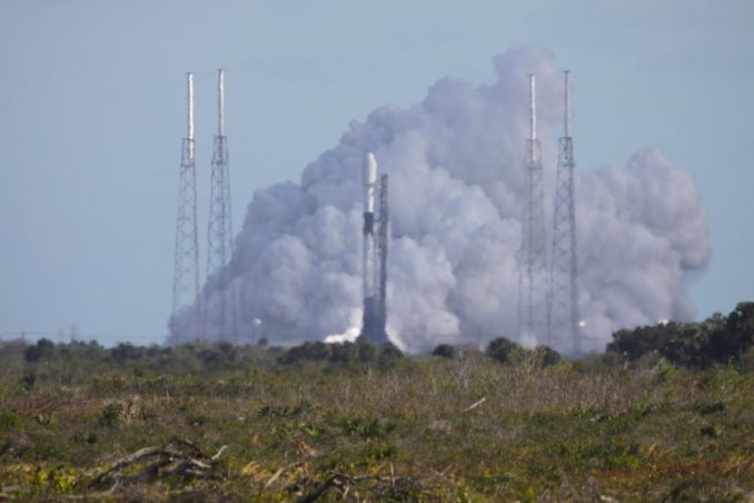 SpaceX test fired Falcon 9 rocket in preparation for fourth Starlink mission scheduled for Friday