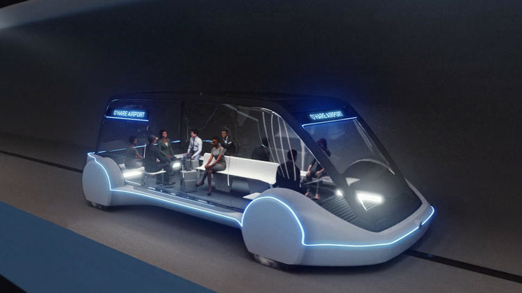 The Boring Company started digging second tunnel to build a high-speed transportation system in Las Vegas