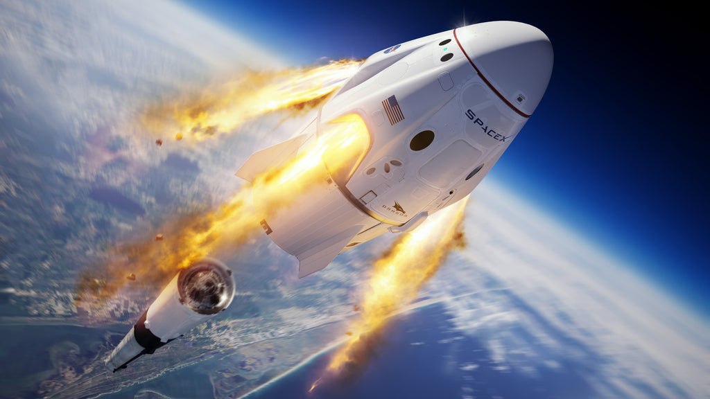 SpaceX will return human spaceflight capabilities to the U.S. -NASA sets date for first crewed flight in a decade!