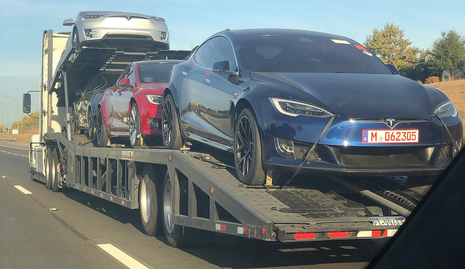 Tesla Model S Plaid Prototypes Come Home After Taking On the Nurburgring