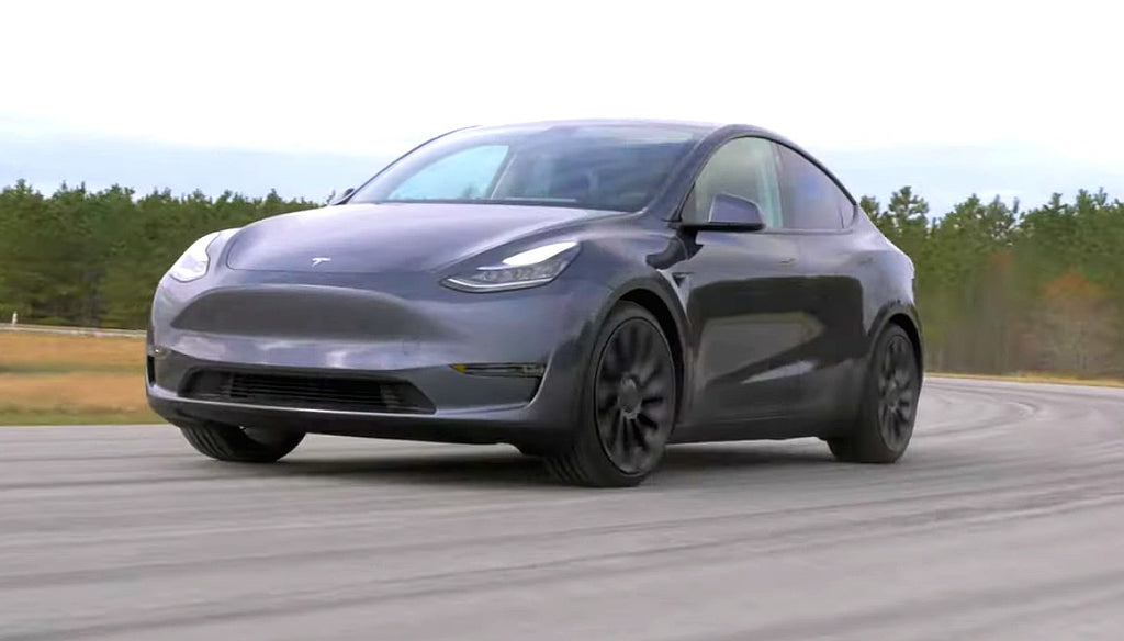 Tesla Model Y Rips The Track Like A Model 3, Will Be A Monster With Track Mode