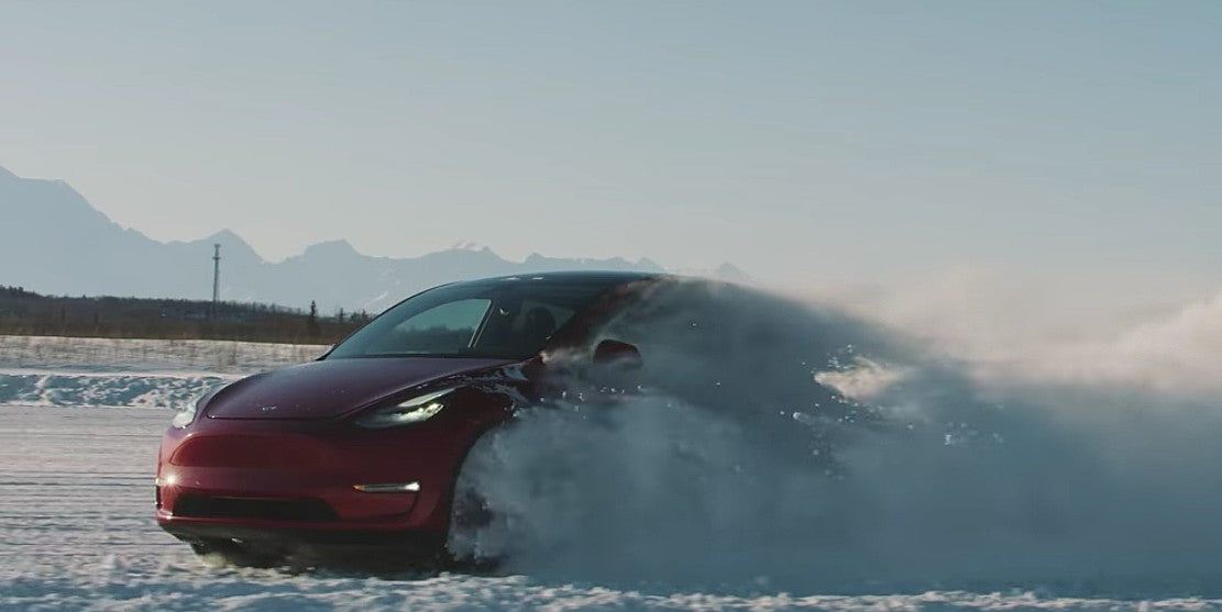 Tesla Releases Model Y Ad, Focuses On Winter Driving Dynamics