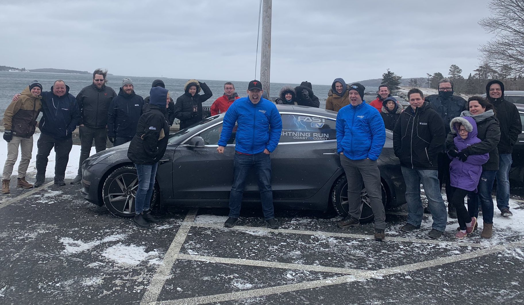 Tesla Model 3 Owners Make History With Coast-to-Coast Nonstop Canada EV Road Trip
