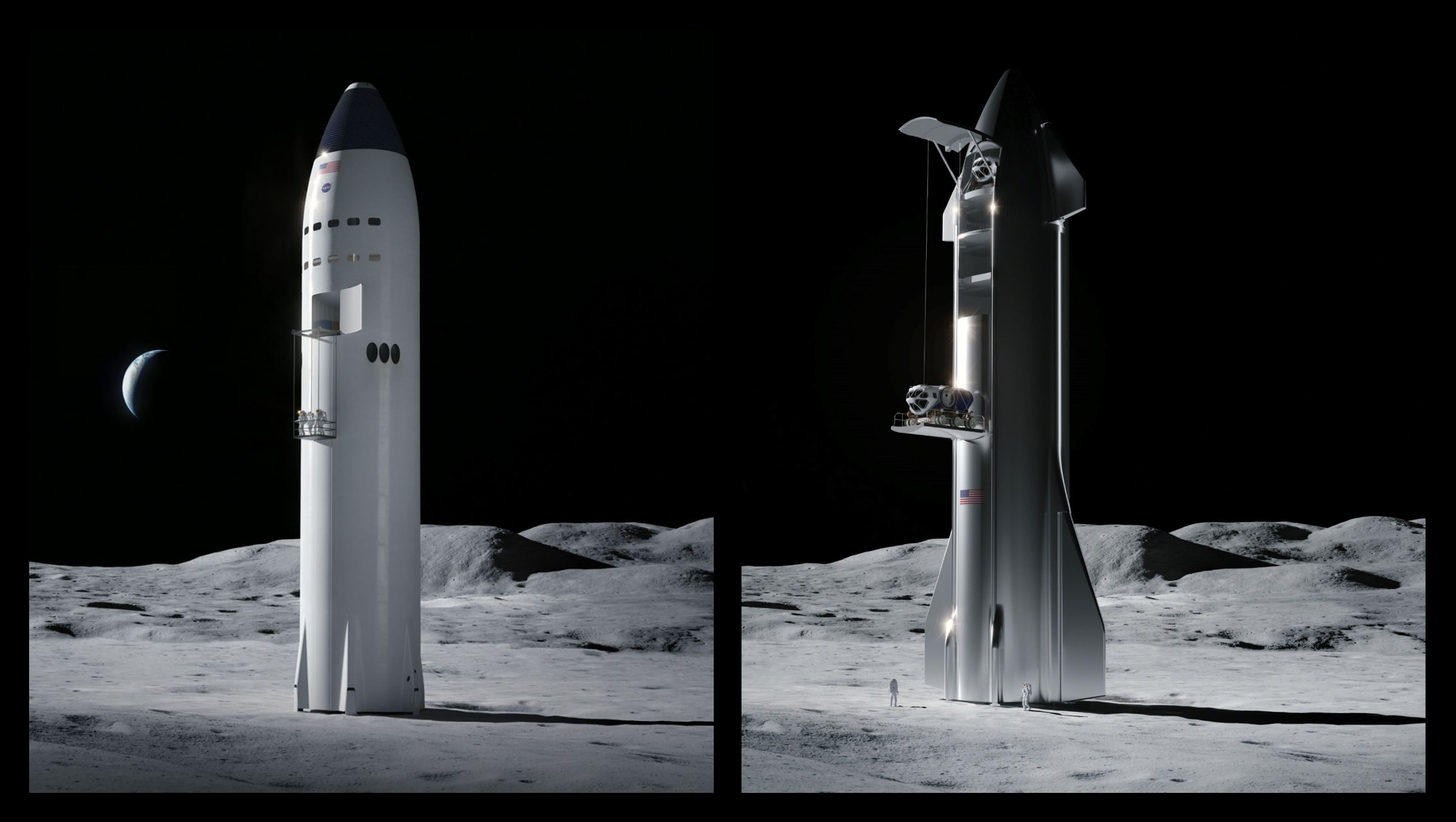 SpaceX will modify Starship's design for NASA Lunar Missions