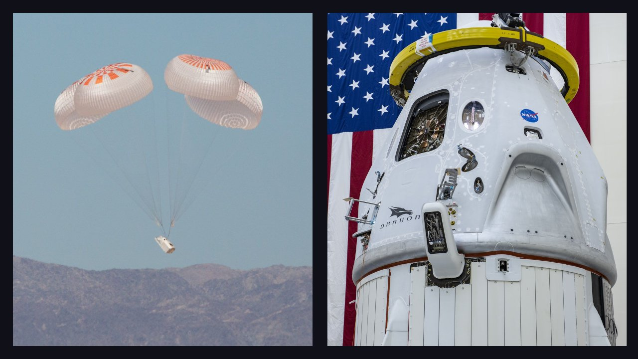 SpaceX completes final Crew Dragon parachute tests ahead of the first manned mission