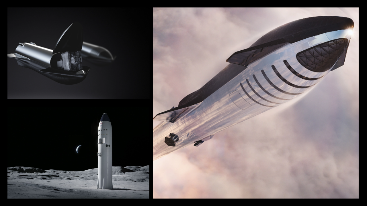 SpaceX will develop Starship variants for Crew, Cargo, Moon, and Mars