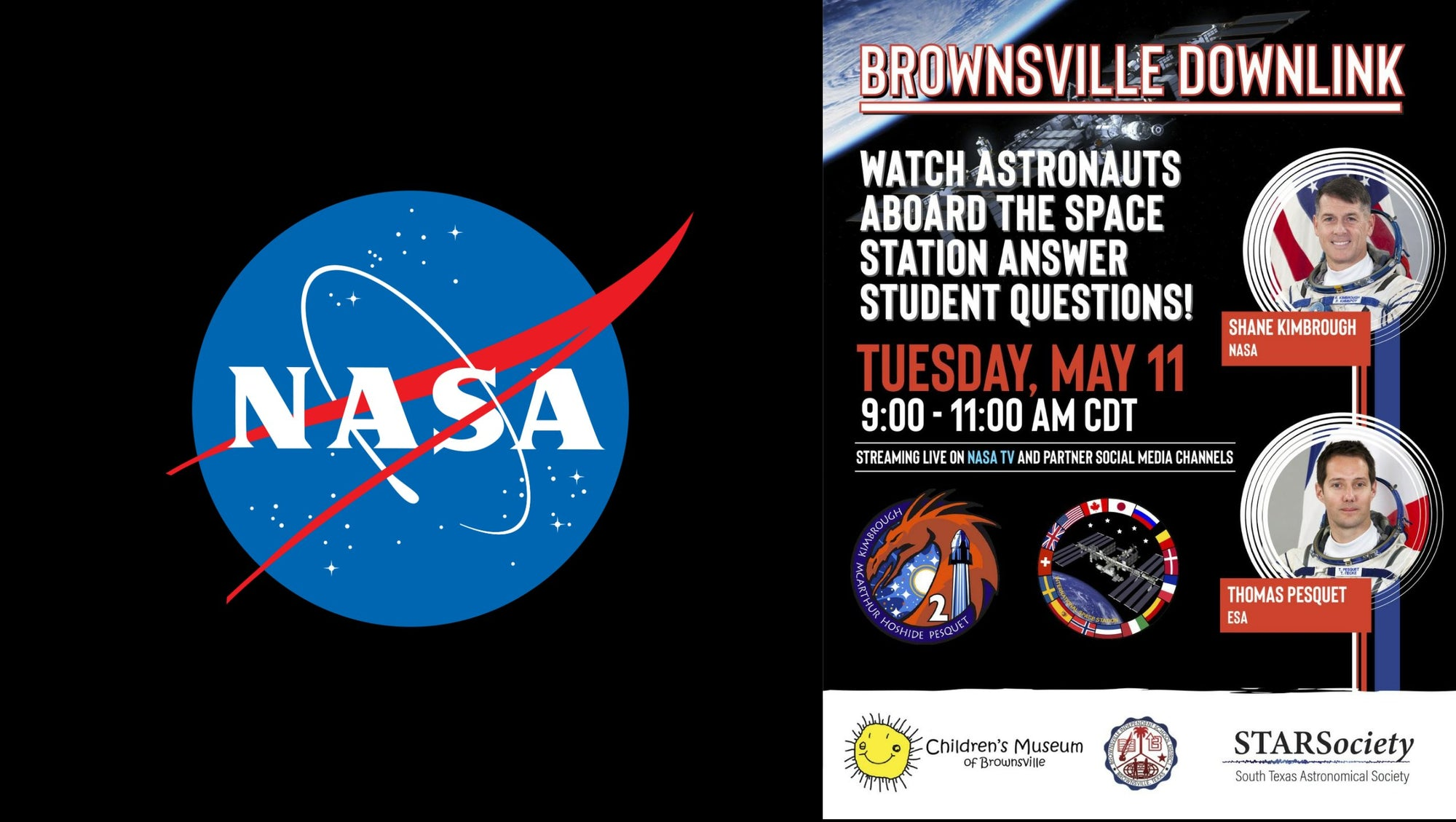 SpaceX Crew-2 Astronauts At The Space Station Will Answer Brownsville Texas Students Questions