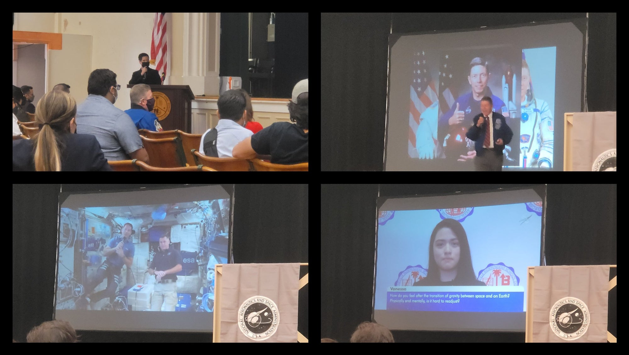 SpaceX Crew-2 Astronauts Answer Brownsville Texas Students Questions From ISS & STARS Hosts Panel Discussion