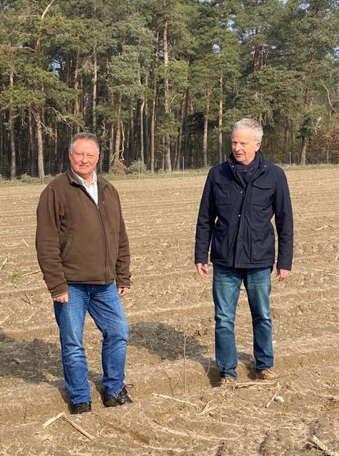 Tesla Has Great Success with Reforestation in Germany with the Help of NfG