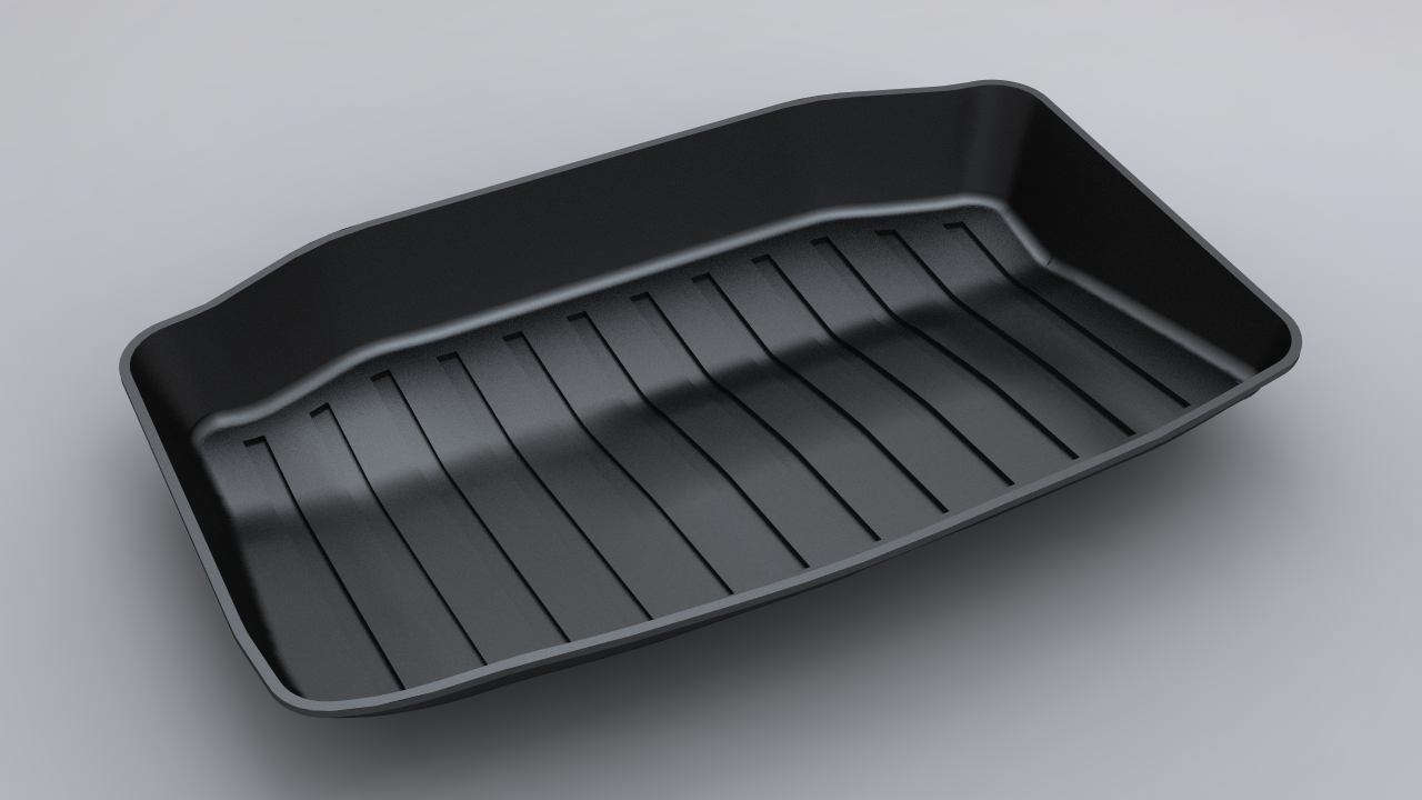 2021 Tesla Model 3 Rear Trunkwell Mat