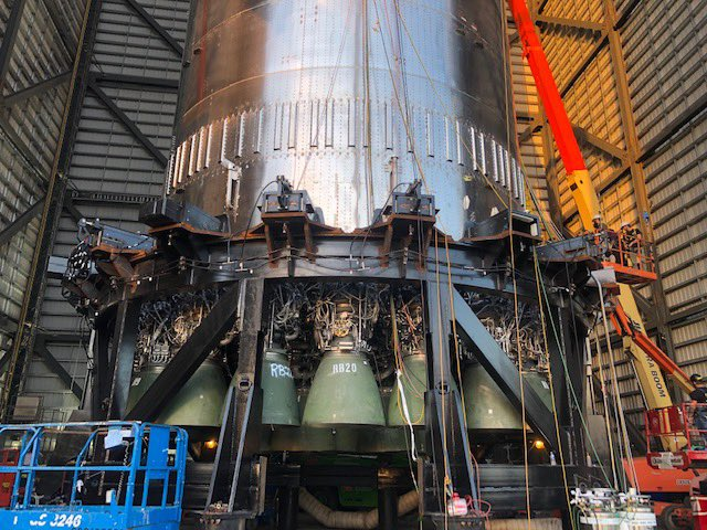SpaceX Completes Installing Starship Super Heavy's Raptor Engines Overnight –An Unprecedented Speed!