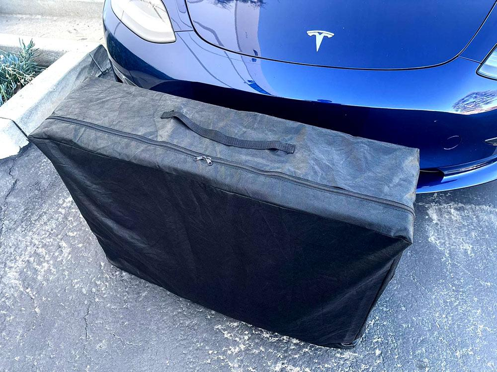 Tesla Model Y Mattress Carry Bag