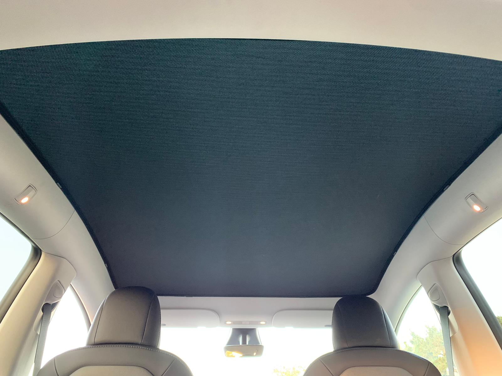 Tesla Model Y Glass Roof Sunshade - 02