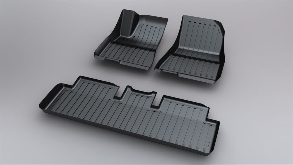 2021 Tesla Model 3 Floor Mats Interior Liners