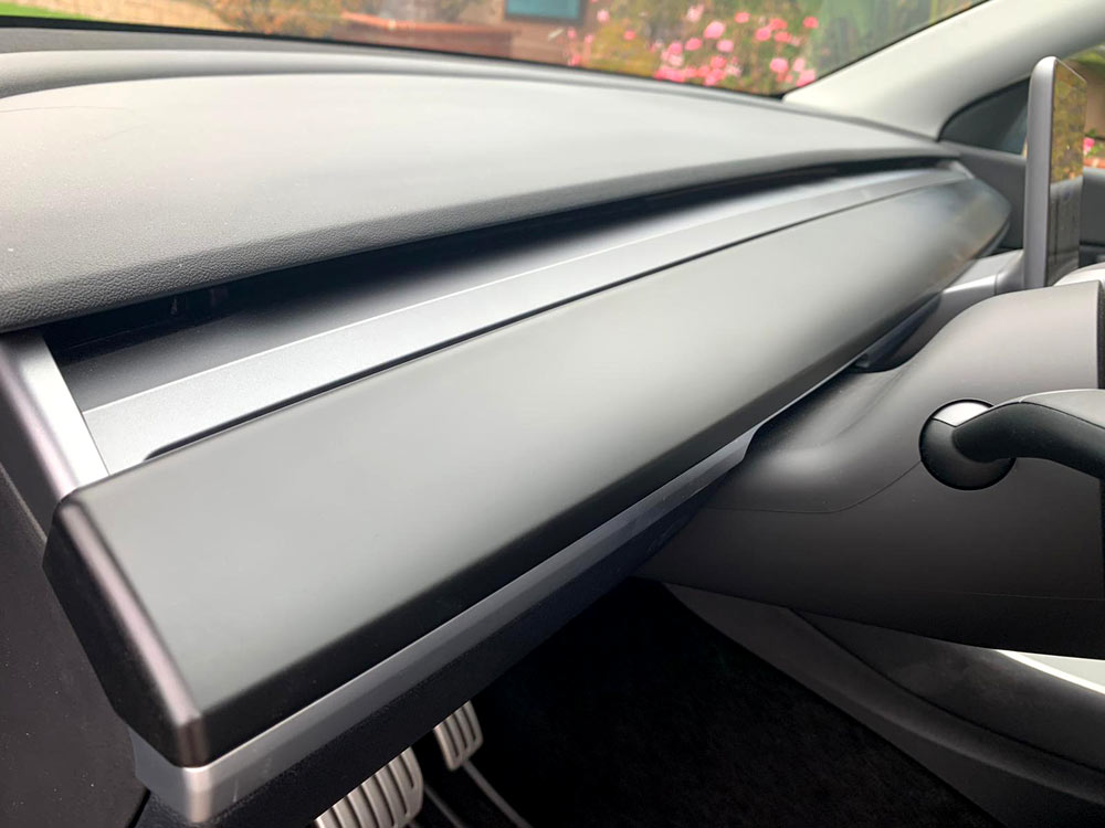 Tesla Model Y Dashboard Cap Cover