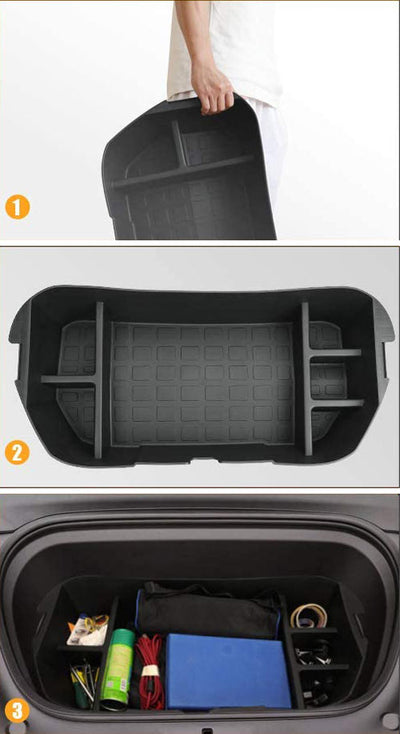 Tesla Model Y Front Trunk Storage Organizer Box - 3